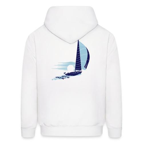 Bluewater_Sailing_navy - Men's Hoodie
