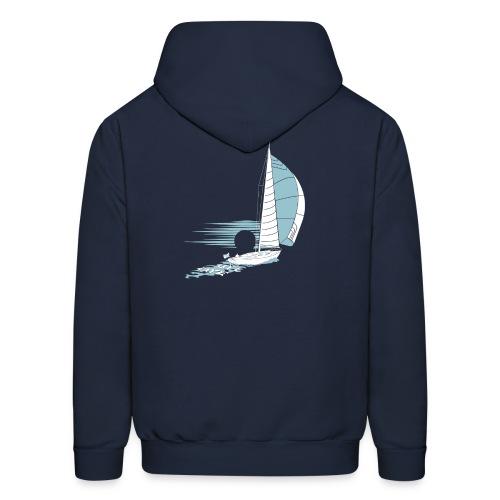 Bluewater_Sailing_white - Men's Hoodie