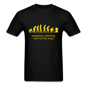 Wrong evolution - Men's T-Shirt