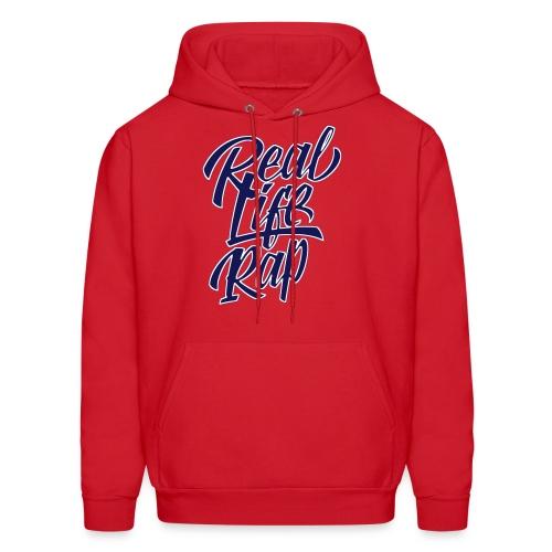 Real Life Rap Hoodie (official design) - Men's Hoodie