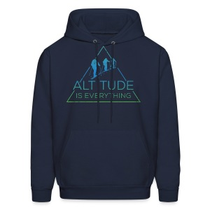 Altitude is everything + Sleeve Print - Men's Hoodie