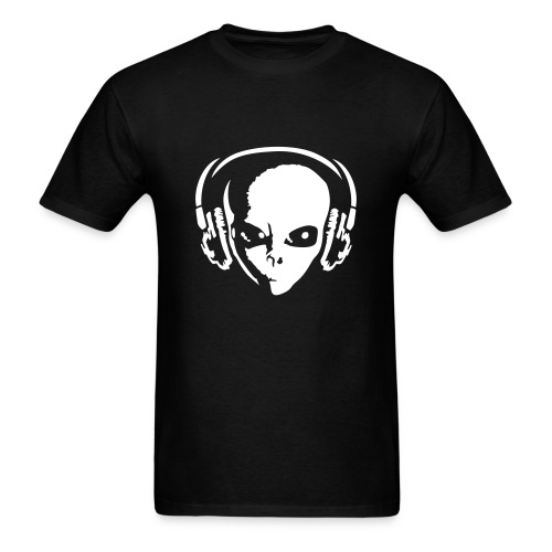 Alien DJ Music - Men's T-Shirt