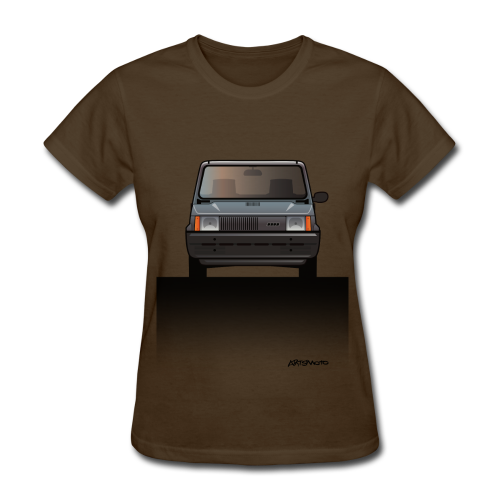 Euro Design Icons: Fiat Panda - Women's T-Shirt