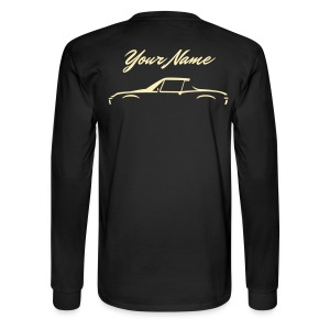 Your Name On The Back - Men's Long Sleeve T-Shirt