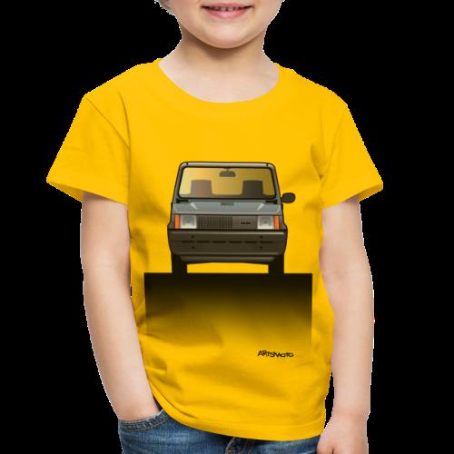 Euro Design Icons: Fiat Panda - Toddler Premium T-Shirt