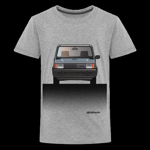 Euro Design Icons: Fiat Panda - Kids' Premium T-Shirt