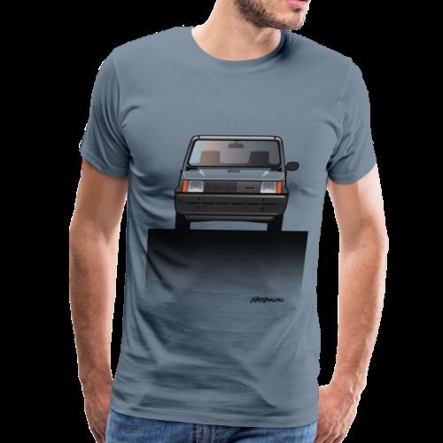 Euro Design Icons: Fiat Panda - Men's Premium T-Shirt