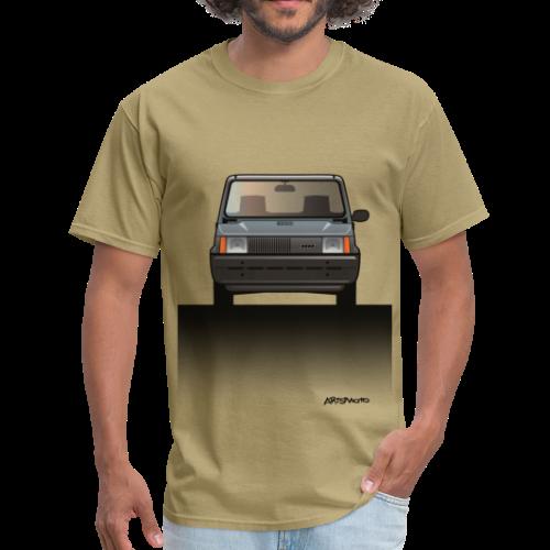 Euro Design Icons: Fiat Panda - Men's T-Shirt