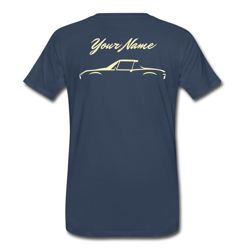 Your Name On The Back - Men's Premium T-Shirt