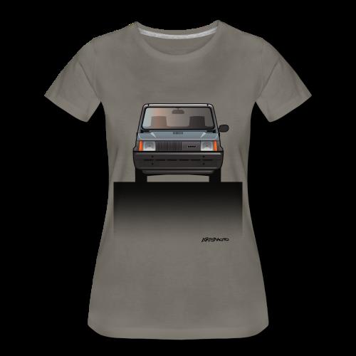 Euro Design Icons: Fiat Panda - Women's Premium T-Shirt