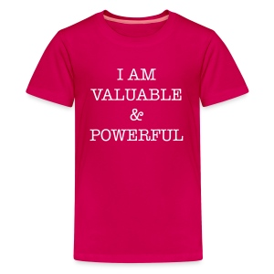 Valuable and Powerful Shirt - Kids' Premium T-Shirt