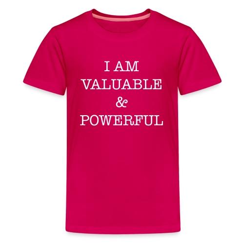 Valuable and Powerful Shirt - Kids' Premium T-Shirt