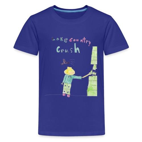 Lake Country Crush - Kids - Kids' Premium T-Shirt