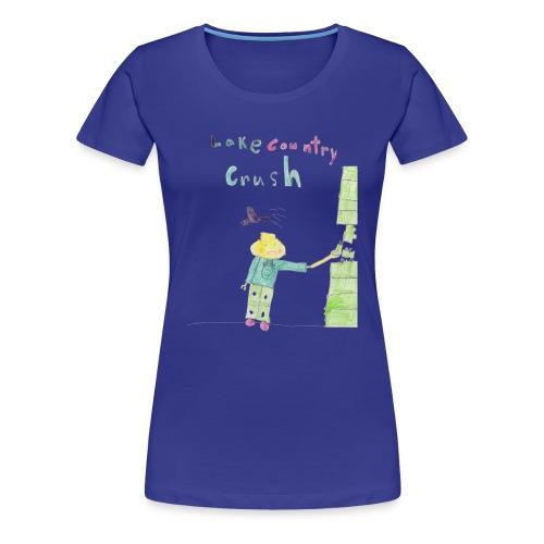 Lake Country Crush - Women - Women's Premium T-Shirt