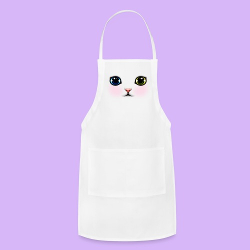 Heterochromia Kitten Apron - Adjustable Apron