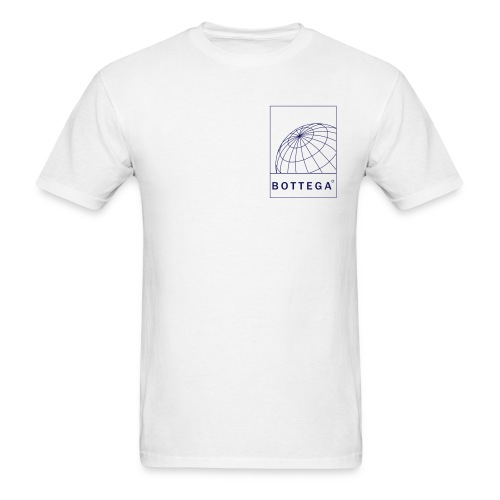 Globe F/B White - Men's T-Shirt