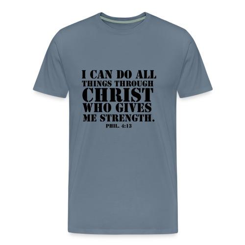 Philippians verse T-Shirt - Men's Premium T-Shirt