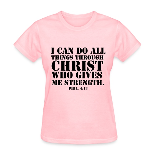 Philippians verse T-Shirt Women - Women's T-Shirt