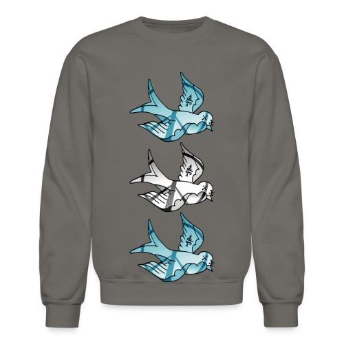 Three Little Birds Crewneck - Crewneck Sweatshirt