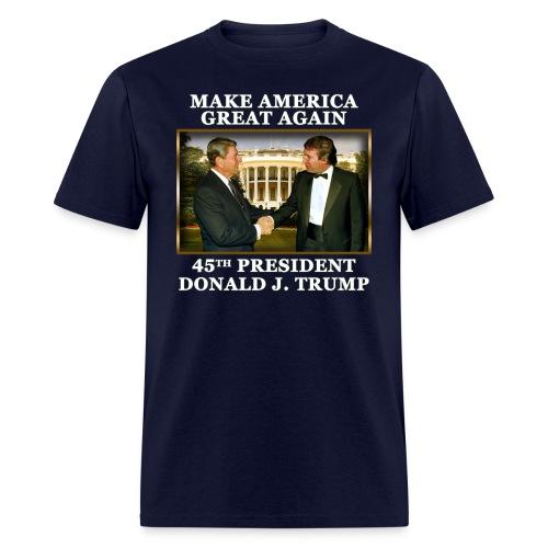 Trump - Reagan  - Men's T-Shirt