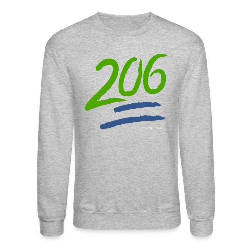 HAWK NATION Crewneck Sweatshirt - Crewneck Sweatshirt
