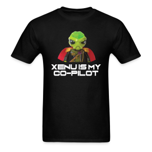 Xenu is My Co-Pilot (men's products) - Men's T-Shirt