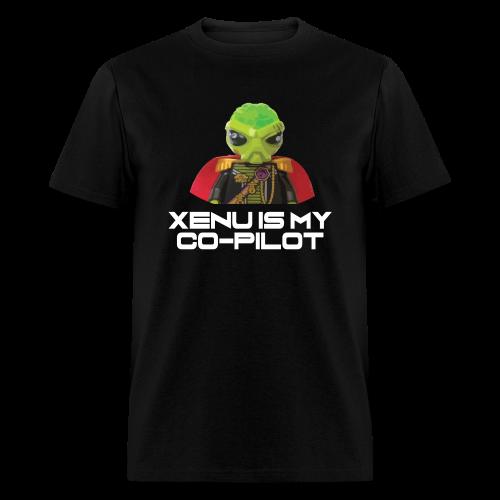 Xenu is My Co-Pilot (men's products) - Men's T-Shirt