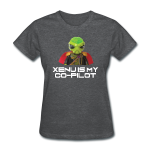Xenu is My Co-Pilot (women's products) - Women's T-Shirt