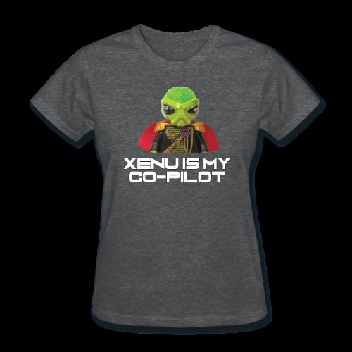 Xenu is My Co-Pilot (women's products) - Women's T-Shirt
