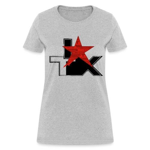 I Love TX - Women's T-Shirt