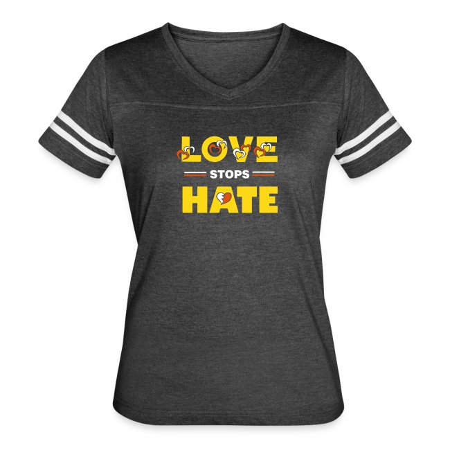 b07f706cb Famous Quotes T-Shirts | Womens Protest Quote T Shirt - Love stops ...