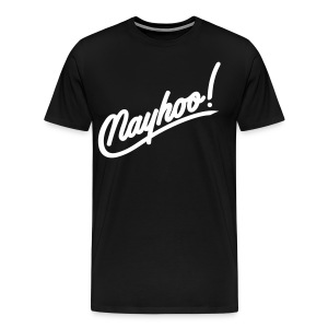Men's Nayhoo white - Men's Premium T-Shirt