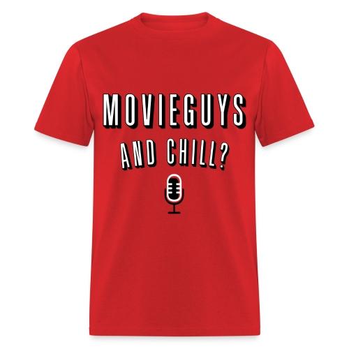 Movie Guys and Chill - Mens - Men's T-Shirt