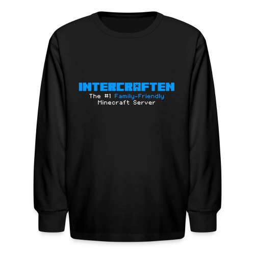 Intercraften Logo Long Sleeve Shirt - KIDS SIZES - Kids' Long Sleeve T-Shirt