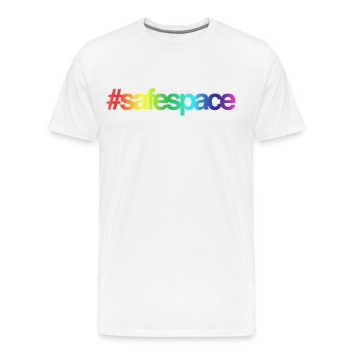 #safespace men's t shirt- rainbow - Men's Premium T-Shirt