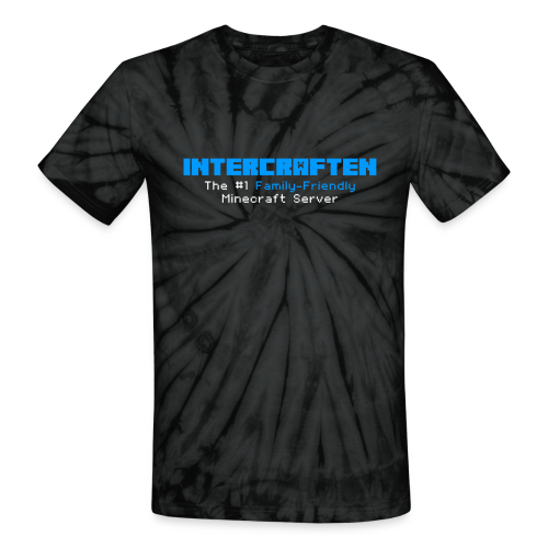 Intercraften Logo Tie-Dye T-Shirt - Unisex Tie Dye T-Shirt