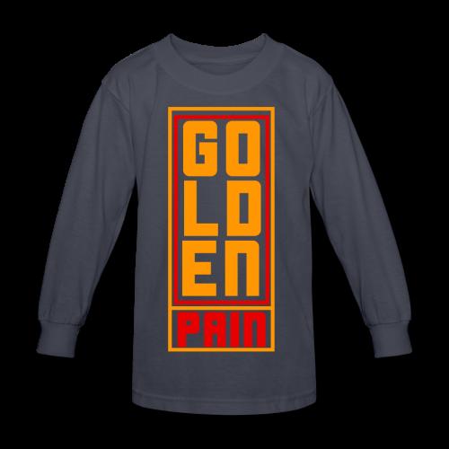 goldenpain - Kids' Long Sleeve T-Shirt