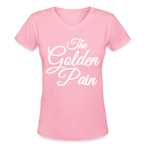 goldenpain - Women's V-Neck T-Shirt