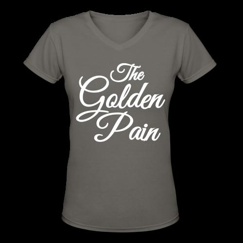 goldenpain - Women's V-Neck T-Shirt