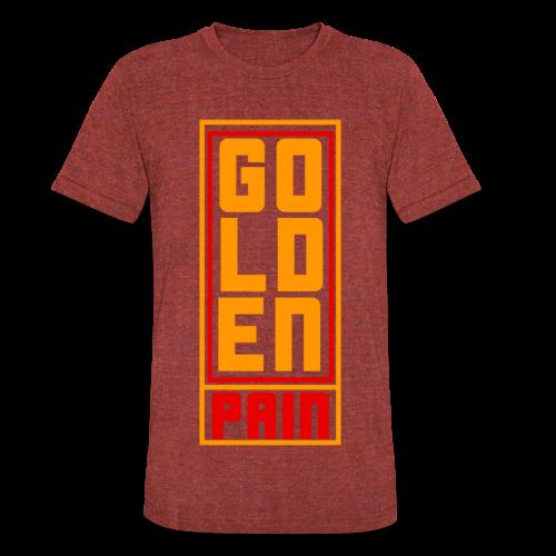 goldenpain  - Unisex Tri-Blend T-Shirt