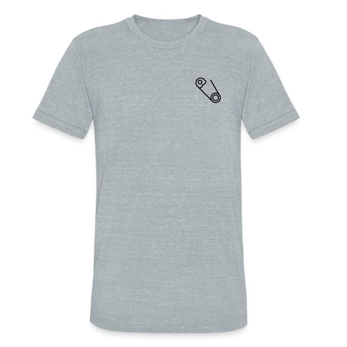 Men's Safety Pin Shirt - Unisex Tri-Blend T-Shirt