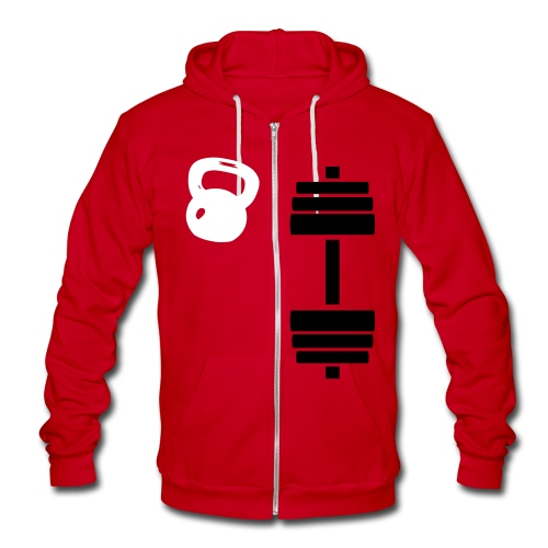 ZIP JACKET  - Unisex Fleece Zip Hoodie