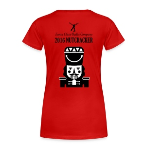 2016 Nutcracker - Women's Premium T-Shirt