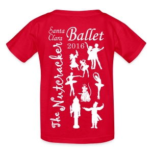 2016 Nutcracker Silhoutte - Kids' T-Shirt