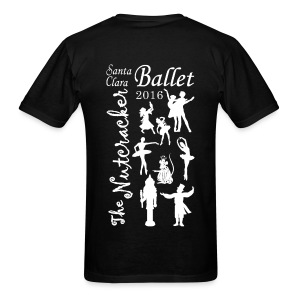 2016 Nutcracker Silhoutte - Men's T-Shirt