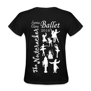 2016 Nutcracker Silhoutte - Women's T-Shirt