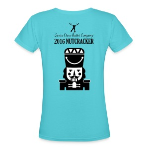 2016 Nutcracker - Women's V-Neck T-Shirt