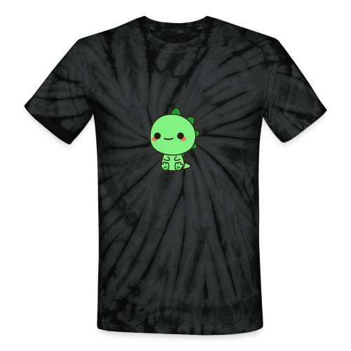 Unisex Tie Dye T Shirt : spider black - Unisex Tie Dye T-Shirt
