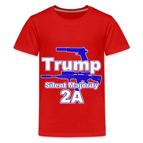 Silent Majority 2a,, - Kids' Premium T-Shirt