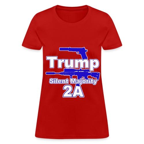 Silent Majority 2a,, - Women's T-Shirt
